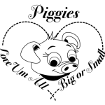 Piggies - Love Um All--Big or small